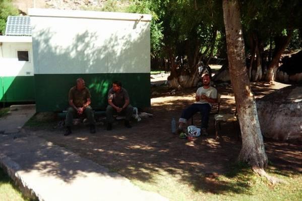 Chillige chilenische Zollstation