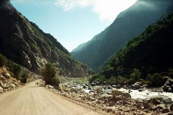 Im Valle Bio Bio aus dem Anden raus